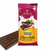 Milk Chocolate with Almonds 90g