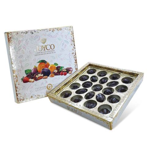 Chocolate Covered Dried Fruits with Nuts 390g