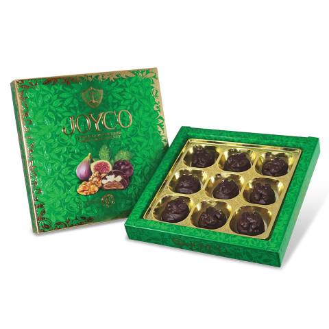 Chocolate Covered Dried Figs with Walnuts 200g