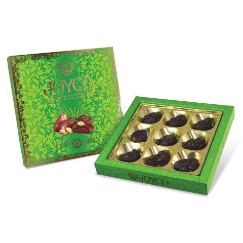 Chocolate Covered Dried Dates with Pistachios 190g