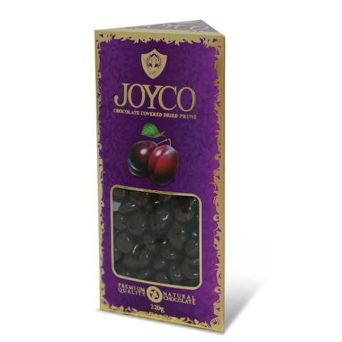 """Dragee """"Dried Prunes in Chocolate"""" 220g"""